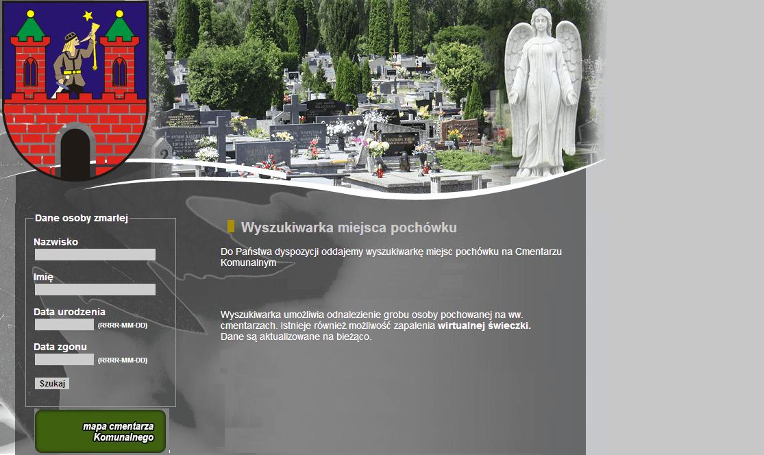 System Cmentarz