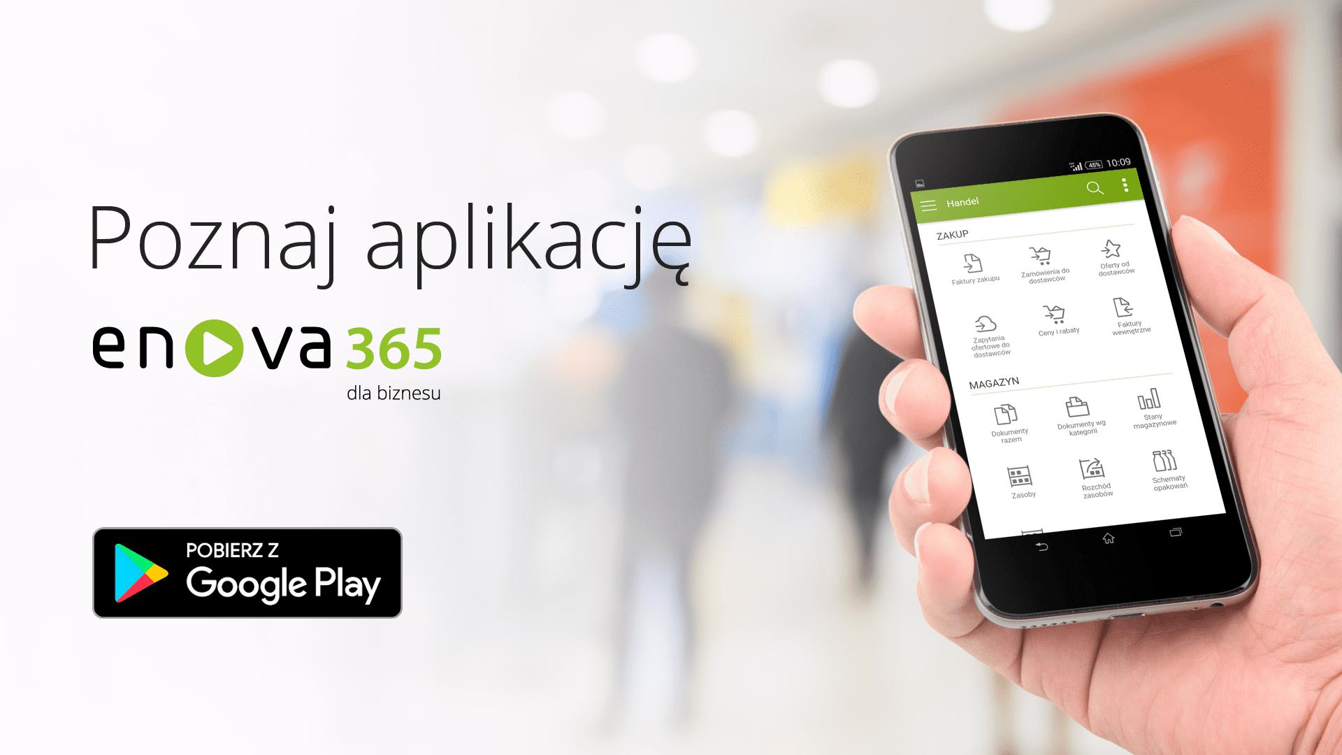 enova365 ERP wersja mobilna